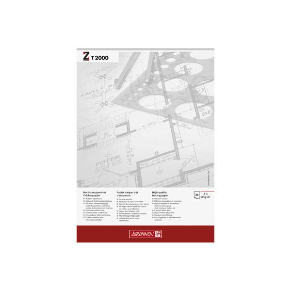 BRUNNEN Transparentpapier A4 60 g/qm 1047446
