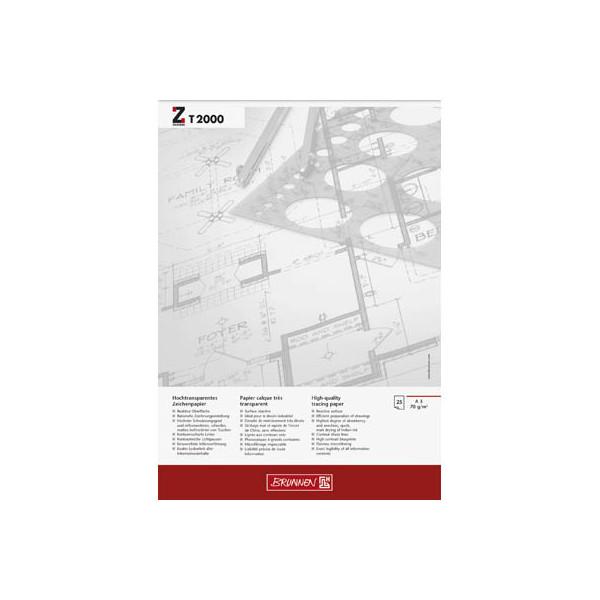 BRUNNEN Transparentpapier A3 70 g/qm 1047360
