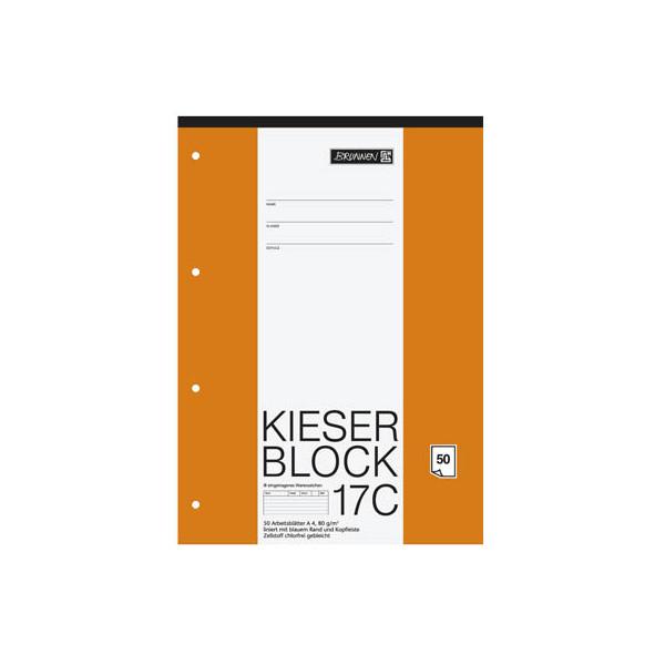 BRUNNEN Kieserblock A4 liniert 1042927