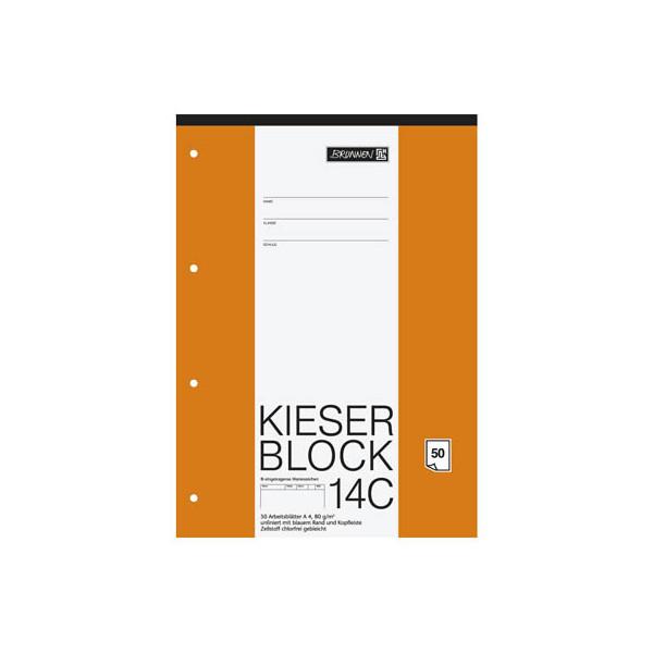 BRUNNEN Kieserblock A4 blanko 1042924