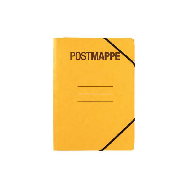 PAGNA Eckspannmappe Postmappe A4 gelb 24005-05