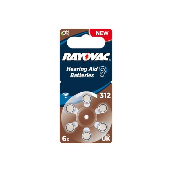 RAYOVAC Knopfzellen 312 1,45 V