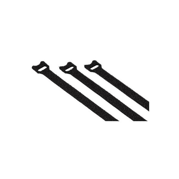 hama 20 Kabelbinder schwarz