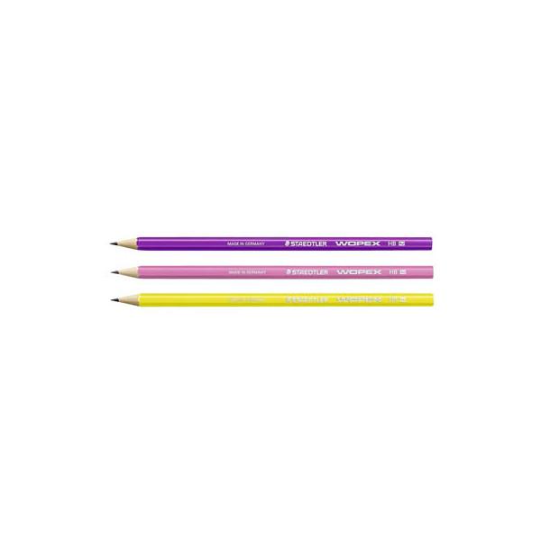STAEDTLER 180F BK3-1 Bleistift Wopex HB
