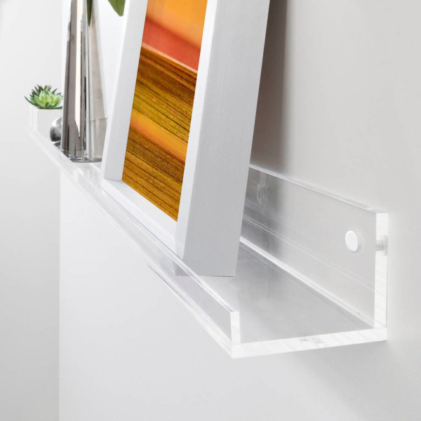 SIGEL SIGEL GA110 Gallery Ablageboard 100cm glasklar