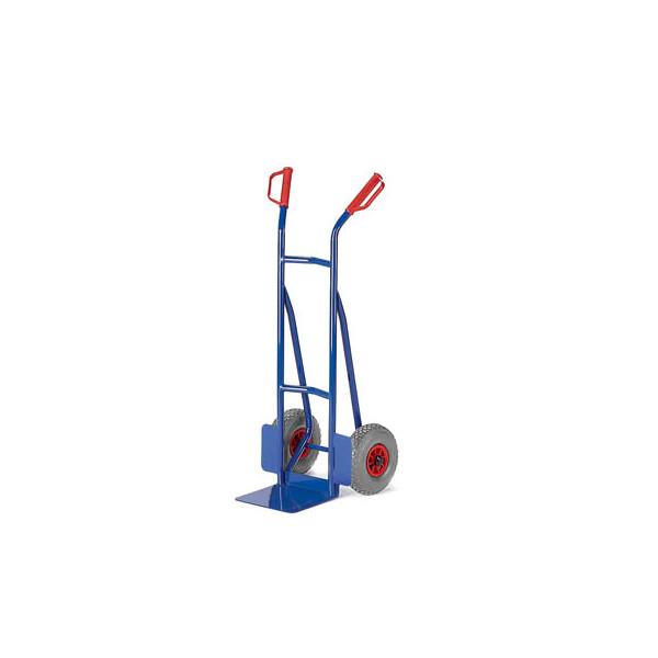 Rollcart Sackkarre 20-9841 tragfähig bis 200kg blau 30x22,5cm Stahl TPE-Bereifung