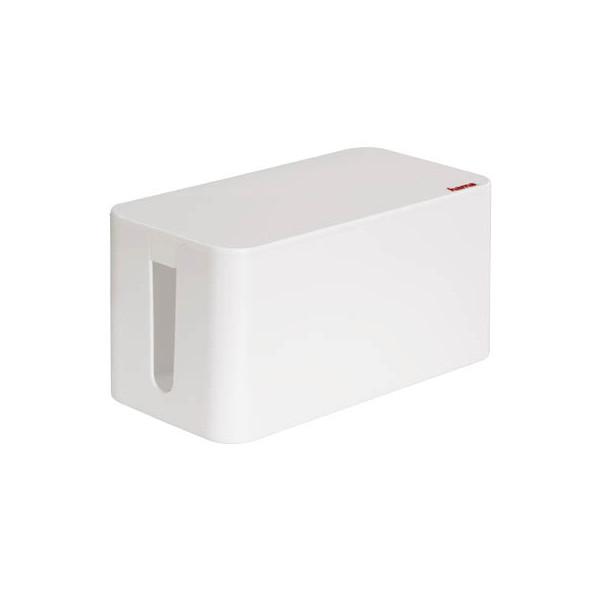 hama Kabelbox Mini weiß 20661