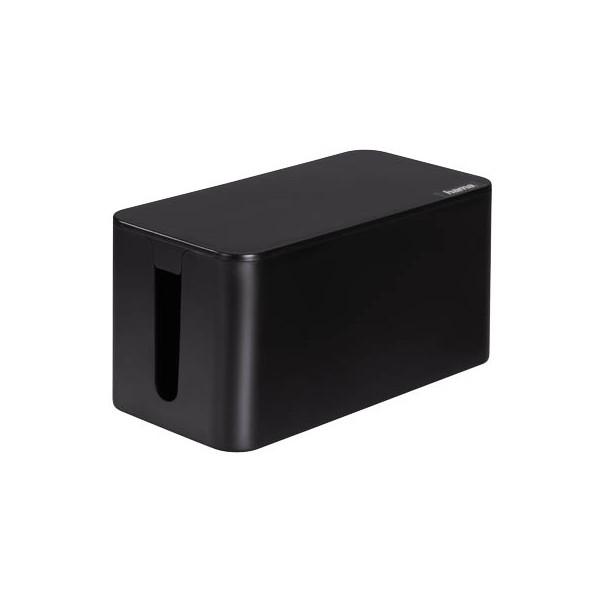 hama Kabelbox Mini schwarz 20663