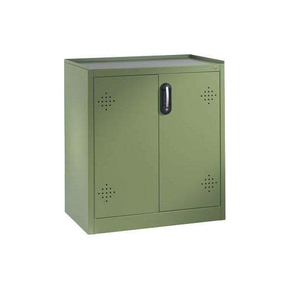 CP Umweltschrank 8821-315, Stahl abschliessbar, 93 x 100 x 50 cm, grün