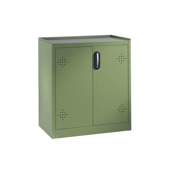 CP Umweltschrank 8821-316, Stahl abschliessbar, 93 x 100 x 50 cm, grün