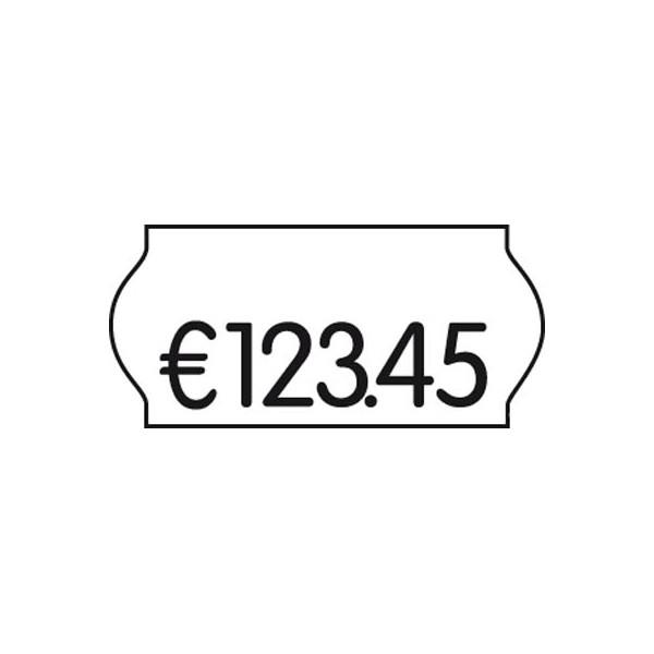 CreenLine Preisetiketten ACL32000020M, 22x12mm, weiß permanent, 27.000 Etiketten