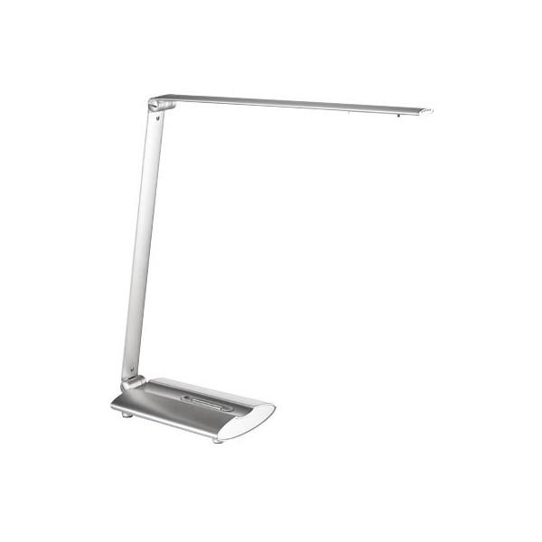 Alco Schreibtischlampe 9212 mit Fuß silber