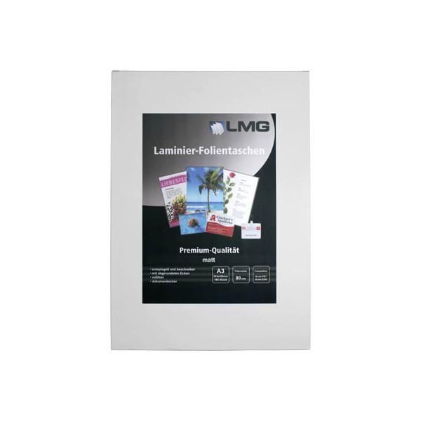 LMG 100 Laminierfolien matt für A3 0