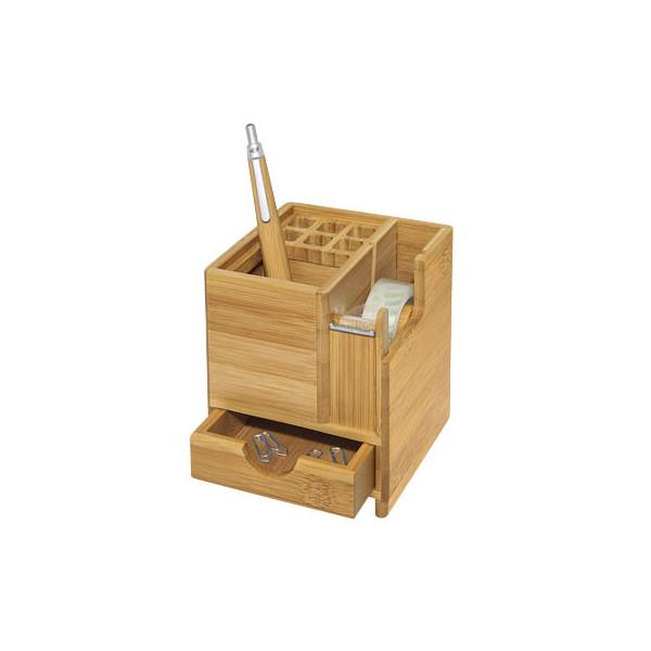WEDO Schreibtisch-Organizer Bambus braun 611707
