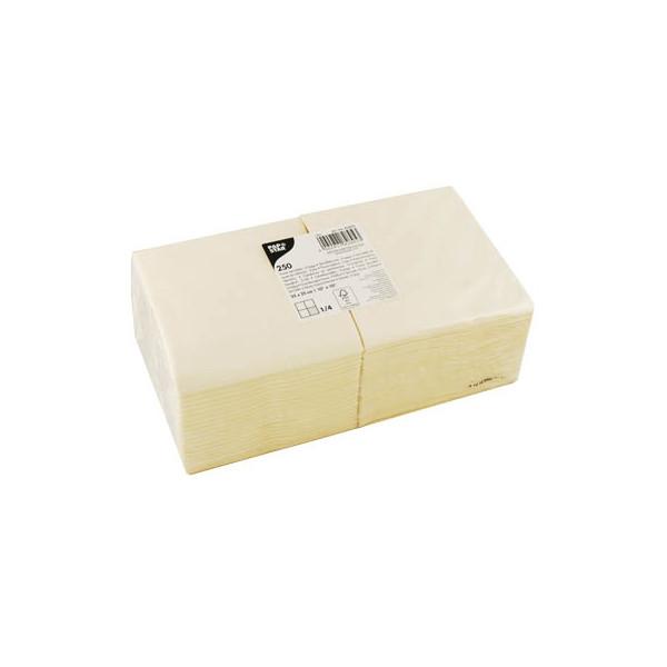 PAPSTAR 250 Servietten creme 82895