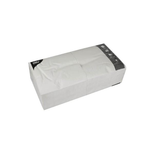 PAPSTAR 250 Servietten weiß 14479