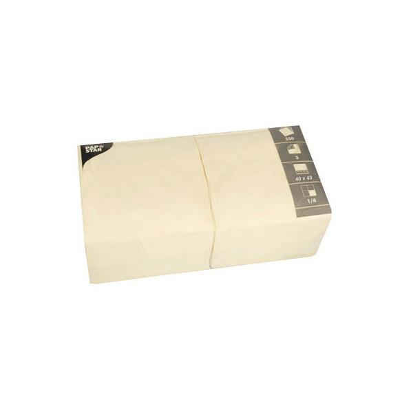 PAPSTAR 250 Servietten creme 82568