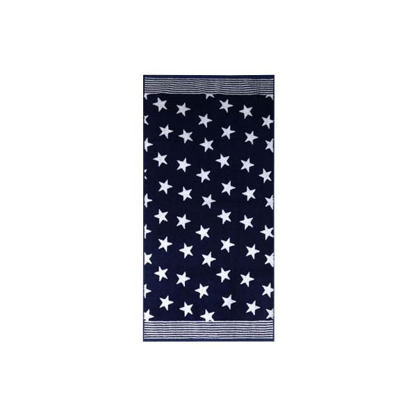 Dyckhoff Duschtuch Stars blau 07625-400-40