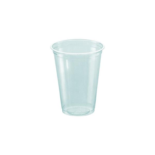 """PAPSTAR 100 Kaltgetränkebecher, PLA """"pure"""" 0,2 l Ø 7,03 cm · 9,7 cm glasklar 16176"""