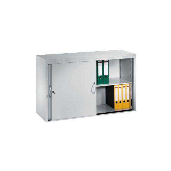 CP Aktenschrank 2145-00, Stahl abschliessbar, 2 OH, 160 x 79 x 40 cm, lichtgrau