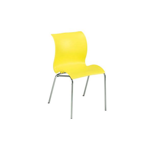 Besucherstuhl gelb 1168-008