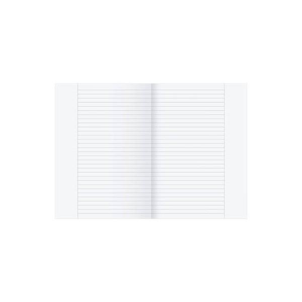 Ursus Kanzleipapier A3 auf A4 gefalzt liniert mit Rand weiß 250 Blatt