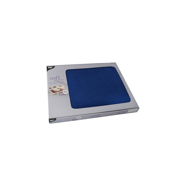 """PAPSTAR 100 Tischsets, stoffähnlich, Vlies """"soft selection"""" 30 cm x 40 cm dunkelblau 82323"""
