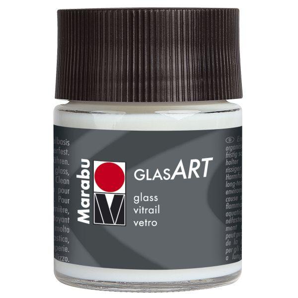MARABU Glasfarbe GlasArt 13020 005 400, glasklar, 50ml