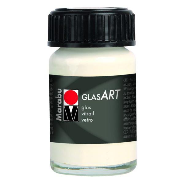 MARABU MARABU 1302 39 470 15ml Hobbyglas Glasfarbe GlasArt weiß