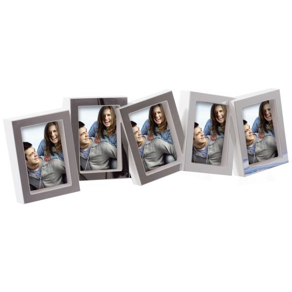 GOLDBUCH 930159 f. 5 Fotos Bilderrahmen La Vita weiß