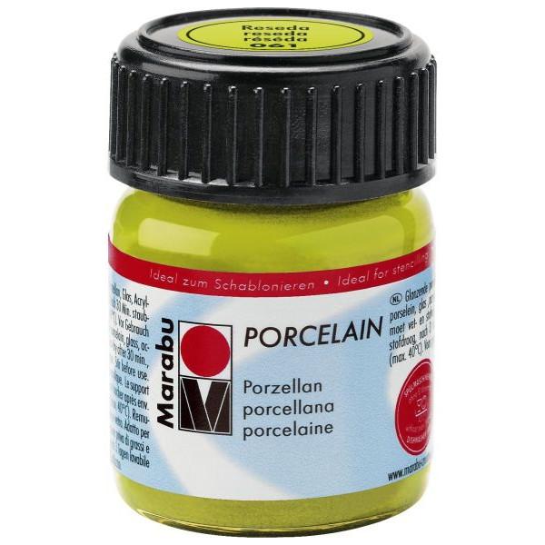 MARABU Porzellanmalfarbe Porcelain 11050 039 061, reseda, 15ml