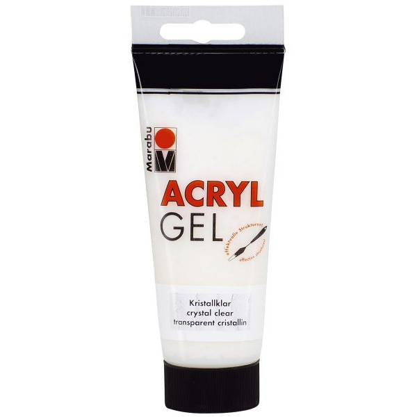 MARABU Acrylpaste Paste 12030 050 101, kristall, 100ml