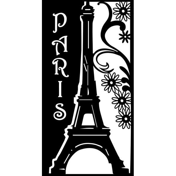 MARABU Schablone 02880 000 00 005, Romantic Paris, A4