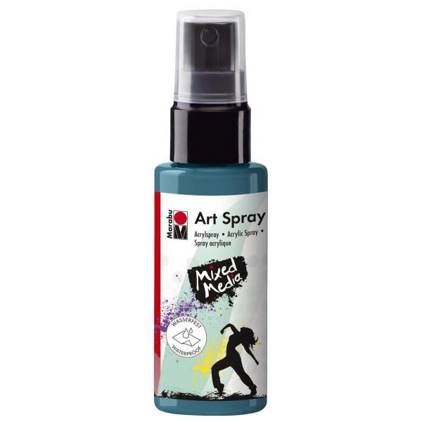 MARABU Acrylspray Art Spray 12090 005 092, petrol, 50ml