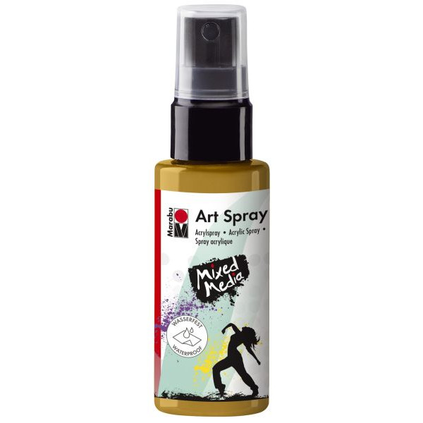 MARABU 1209 05 084 Acrylspray Art Spray gold 50ml