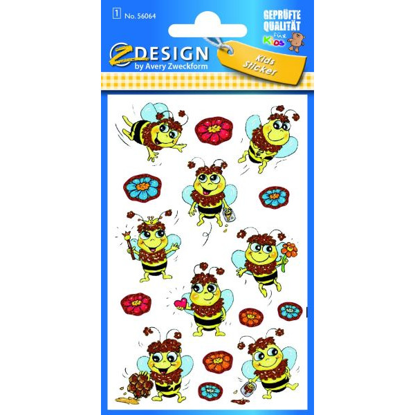 Zweckform 56064 Sticker Kids Bienchen