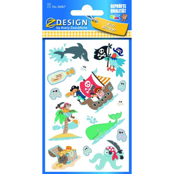 Zweckform 56067 Sticker Kids Pirat