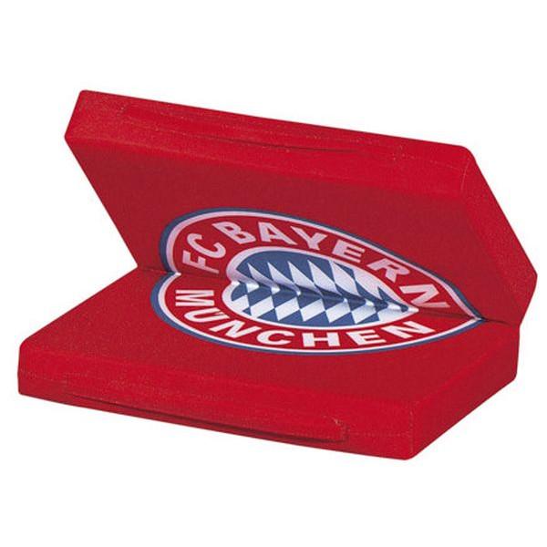 FC Bayern Sitzkissen mit Logo rot