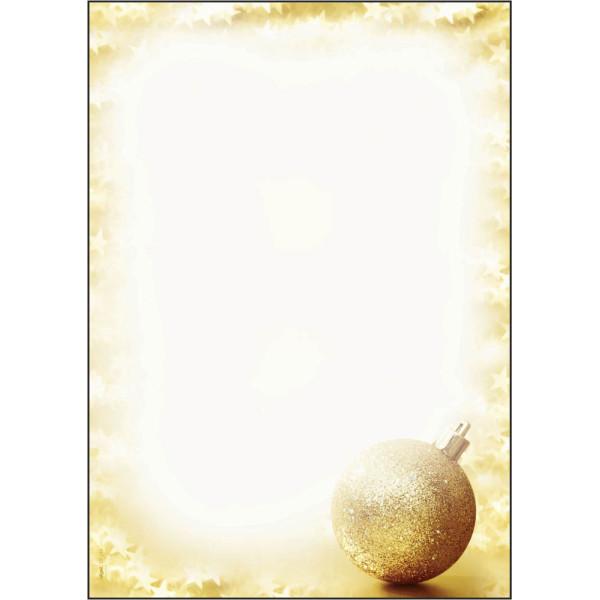 Sigel Weihnachtspapier Brightness A4 100 Blatt DP246