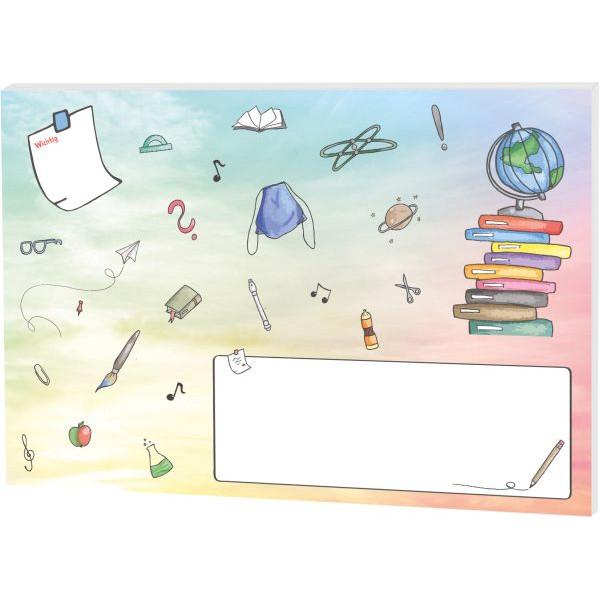 RNK Schreibunterlage Schooldoodle small table, Papier, 30 Blatt