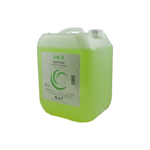zack Geschirrspülmittel 14701 Zitro 10 Liter Nachfüllkanister