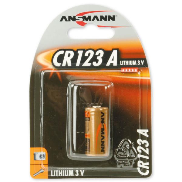 Ansmann Batterie CR123A 3,0 V 5020012