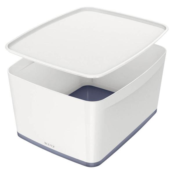 LEITZ MyBox Aufbewahrungsbox 18,0 l weiß 5216-40-01