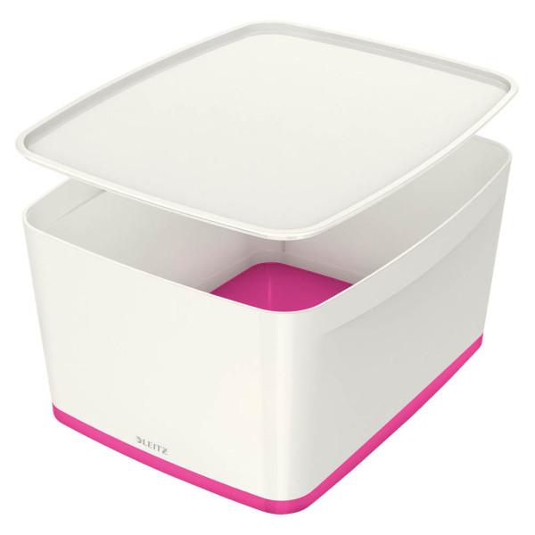 LEITZ MyBox Aufbewahrungsbox 18,0 l weiß 5216-40-23
