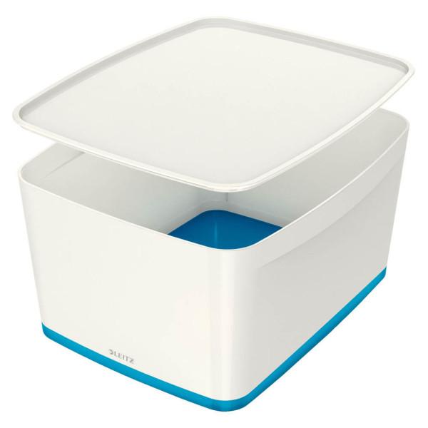 LEITZ MyBox Aufbewahrungsbox 18,0 l weiß 5216-40-36