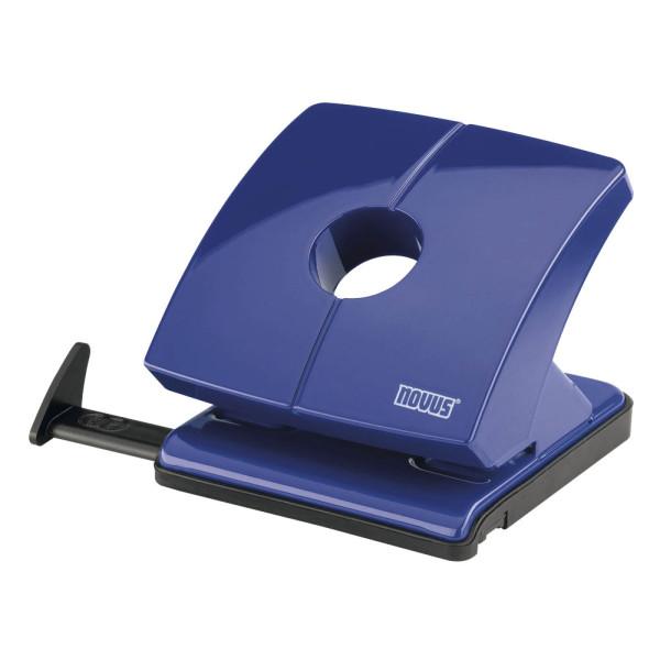 novus Locher B230 025-0616 blau bis 3mm 30 Blatt mit Anschlagschiene