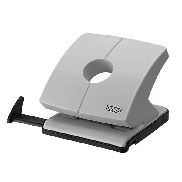novus Locher B230 025-0615 grau bis 3mm 30 Blatt mit Anschlagschiene