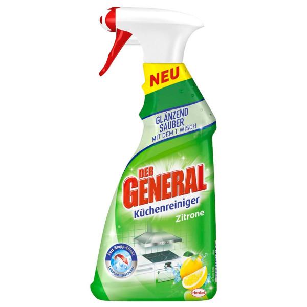 DER GENERAL Zitrone Küchenreiniger 0,5 l 227573