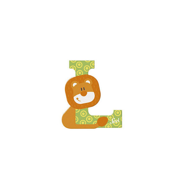 TRUDI Tier-Buchstaben 10cm Löwe L