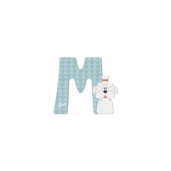 TRUDI Tier-Buchstaben 10cm Malteser M